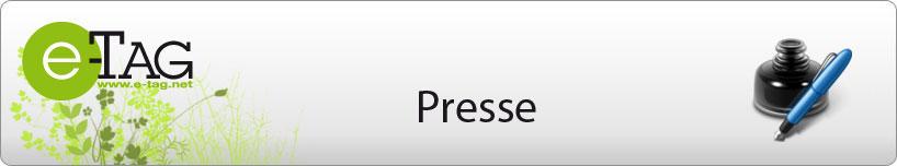 Presse e-Tag