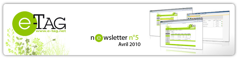 Newsletter Avril 2010