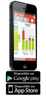 Notes de frais Mobile pour iPhone
