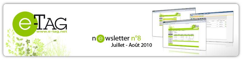 Newsletter Juillet Août 2010