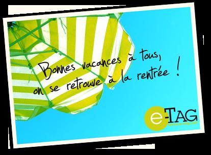 Carte postale Bonne Vacances!