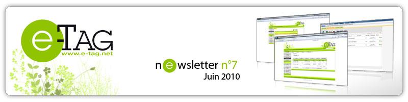 Newsletter Avril 2010