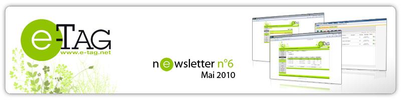Newsletter Mai 2010